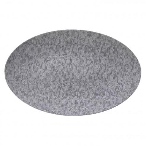 Servierplatte oval 40x26 cm 25675 Life