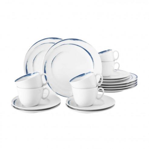 Kaffeeservice 18 teilig Seltmann Weiden Trio Highline 71381 Kaffee Set Service