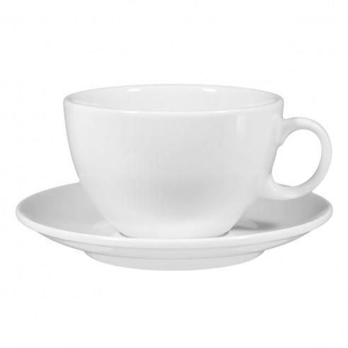 Milchkaffeetasse 1164 0,37 m. Untertasse 00003 VIP.