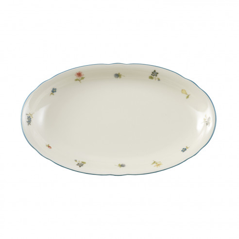 Servierplatte oval 23,5x14 cm 30308 Marieluise