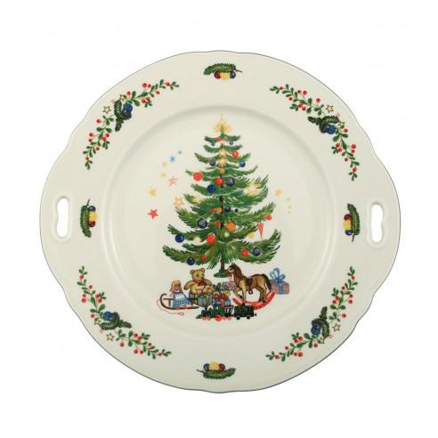 Kuchenplatte rund mit Griff 27x26 cm 43607 Marieluise