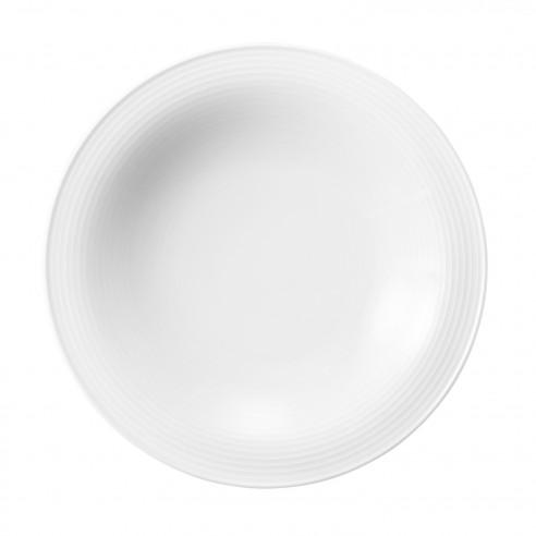 Suppenteller rund 22,5 cm 00003 weiss Beat