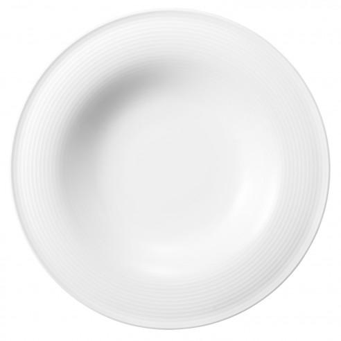 Pasta-/Salatteller 27,5 cm 00003 weiss Beat