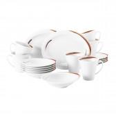 Frühstück-Set 18-teilig oval E 23434 Top Life