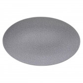 Servierplatte oval 40x26 cm - Life Fashion elegant grey 25675