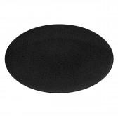 Servierplatte oval 40x26 cm - Life Fashion glamorous black 25677