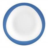 Frühstücksteller rund 23 cm - Trio Blau 23811