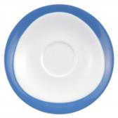 Milchkaffeeuntertasse 17,5 cm - Trio Blau 23811