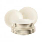 Tafelservice 12-teilig - Rubin cream uni 7