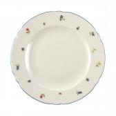 Speiseteller rund 25 cm - Marieluise elfenbein Streublume 30308