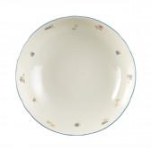 Schüssel rund 23 cm - Marieluise elfenbein Streublume 30308