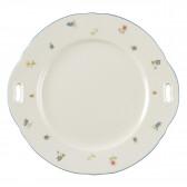 Kuchenplatte rund mit Griff 27x26 cm 30308 Marieluise