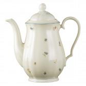Kaffeekanne 1,30 l - Marieluise elfenbein Streublume 30308