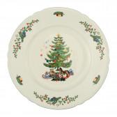 Speiseteller rund 27 cm - Marieluise elfenbein Weihnachten 43607