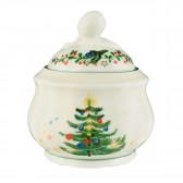 Zuckerdose 0,21 l - Marieluise elfenbein Weihnachten 43607