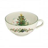 Teeobertasse 0,21 l - Marieluise elfenbein Weihnachten 43607