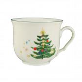 Kaffeeobertasse 0,23 l - Marieluise elfenbein Weihnachten 43607