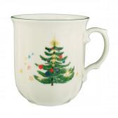 Becher mit Henkel 0,27 l - Marieluise elfenbein Weihnachten 43607