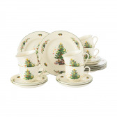 Kaffeeservice 18-teilig - Marieluise elfenbein Weihnachten 43607