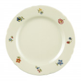 Frühstücksteller rund 20 cm - Marieluise elfenbein Blütenmeer 44714