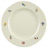 Speiseteller rund 25 cm - Marieluise elfenbein Blütenmeer 44714