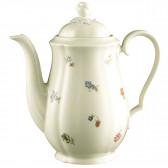 Kaffeekanne 1,30 l - Marieluise elfenbein Blütenmeer 44714