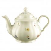 Teekanne 1,10 l - Marieluise elfenbein Blütenmeer 44714
