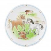 Frühstücksteller rund 19 cm - Compact Mein Pony 24778