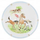 Speiseteller rund 25,5 cm - Compact Mein Pony 24778