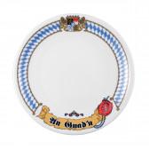 Frühstücksteller rund 19 cm - Compact Bayern 27110