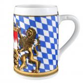 Bierkrug ohne Deckel 408  0,75 l - Zusatzsortiment Bayern 24889
