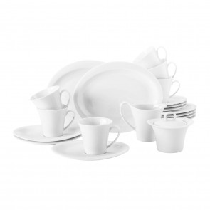 Kaffeeservice 20-teilig oval F 00003 Mirage Top Life
