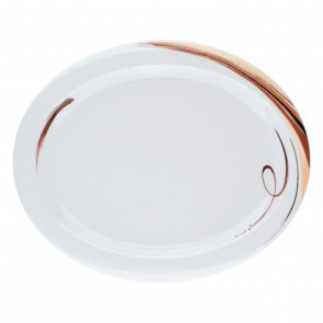 Servierplatte oval 31,5x26 cm 23434 Top Life