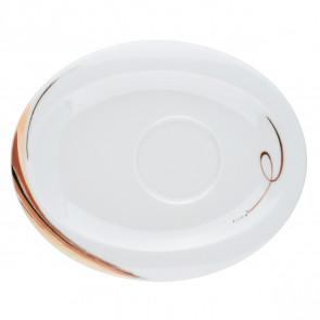 Kombi-Untertasse oval 19x15,5 cm 23434 Top Life
