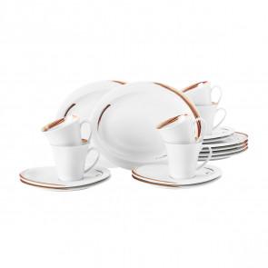 Kaffeeservice 18-teilig oval A 23434 Top Life