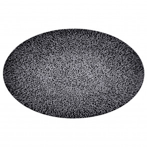 Servierplatte oval 40x26 cm 65017 Life