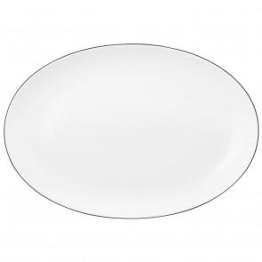Servierplatte oval 35x24 cm - Lido Black Line 10826