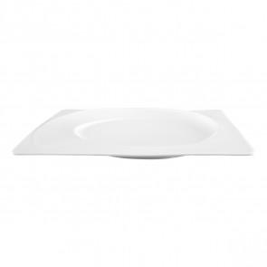 Frühstücksteller eckig 25x21 cm 00003 Paso