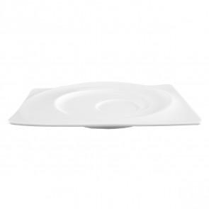 Kombi-Untertasse eckig 19,5x16,5 cm 00003 Paso