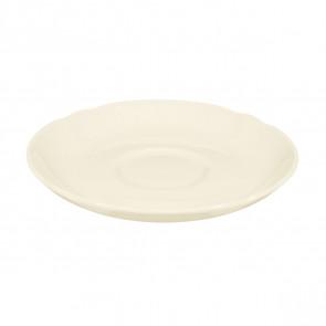 Teeuntertasse 13 cm - Marieluise elfenbein uni 3