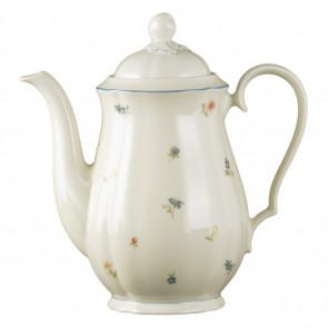 Kaffeekanne 1,3 l - Marieluise elfenbein Streublume 30308