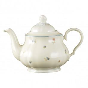 Teekanne 1,1 l - Marieluise elfenbein Streublume 30308