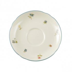 Teeuntertasse 13 cm - Marieluise elfenbein Streublume 30308