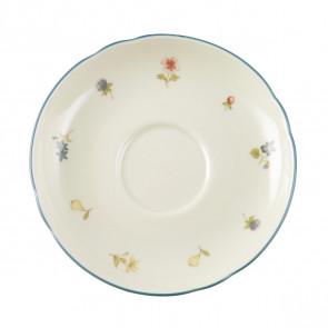 Kaffeeuntertasse 14,5 cm - Marieluise elfenbein Streublume 30308