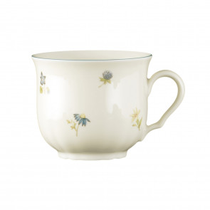Kaffeeobertasse 0,23 l - Marieluise elfenbein Streublume 30308