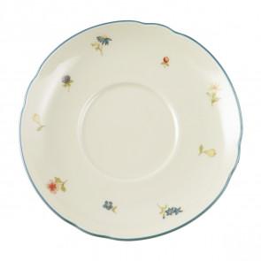 Milchkaffeeuntertasse 16 cm - Marieluise elfenbein Streublume 30308