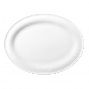 Servierplatte oval 31x24 cm 00003 weiss Beat