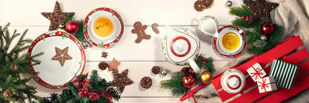 Trio Weihnachten - Porzellan von Seltmann Weiden