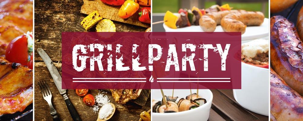 Grillparty mit Geschirr und Porzellan von Seltmann Weiden